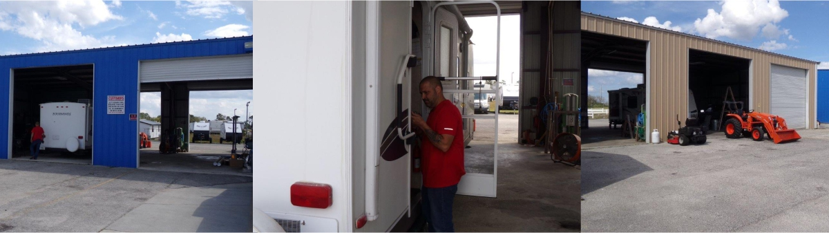 RV SERVICE AT SOUTH TRAILS RV