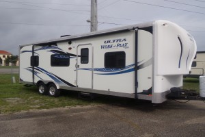 Used 2013 Forest River Work & Play 25UL Toy Hauler
