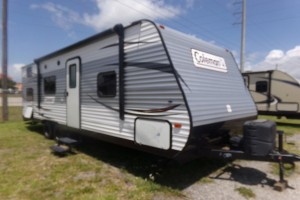 Used 2017 COLEMAN BUNKHOUSE 274 BH Travel Trailers