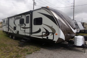 Used 2015 KEYSTONE BULLET PREMIER 31BHP Travel Trailers